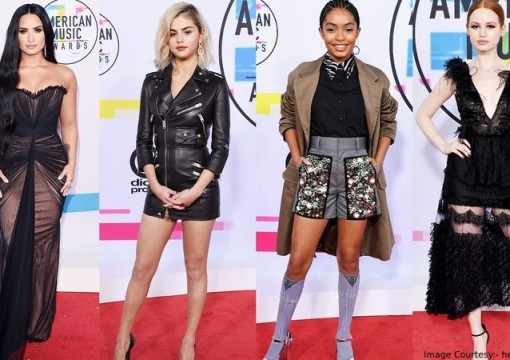 12 Phenomenal Red Carpet Looks from the 2017 American Music Awards