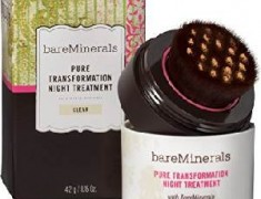 BAREMINERALS PURE TRANSFORMATION NIGHT TREATMENT REVIEW