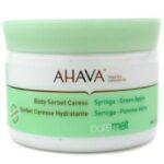 AHAVA PURE MELT BODY SORBET CARESS REVIEW