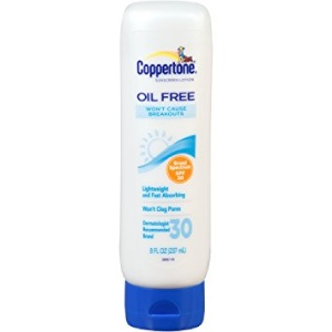 Coppertone Oil Free Lotion Review