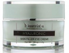 DR JEANNETTE GRAF HYALURONIC SKIN FILLER EYE CREAM REVIEW