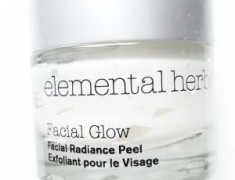ELEMENTAL HERBOLOGY FACIAL GLOW RADIANCE PEEL REVIEW