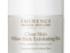 EMINENCE CLEAR SKIN WILLOW BARK EXFOLIATING PEEL REVIEW