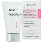 Mattifying Oil Control Moisturizer with Sunscreen Broad Spectrum SPF 15 Review