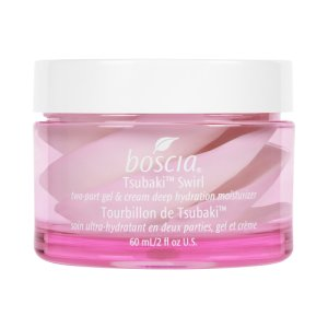 Boscia Tsubaki Swirl Two-Part Gel & Cream Deep Hydration Moisturizer