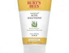 Burt's Bees Natural Acne Solutions Pore Refining Scrub Review