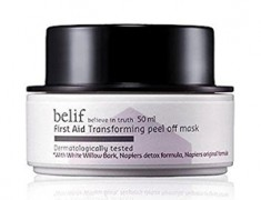 BELIF FIRST AID TRANSFORMING PEEL OFF MASK REVIEW