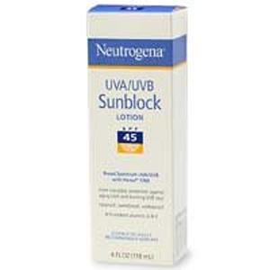 Neutrogena Sunblock Lotion