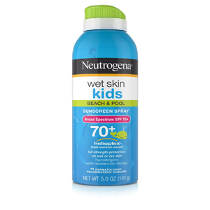 Neutrogena Wet Skin Kids Sunscreen Spray Broad Spectrum SPF