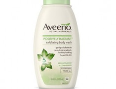 aveeno active naturals positively radiant exfoliating body wash REVIEW