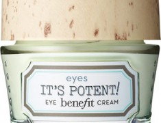 BENEFIT COSMETICS IT'S POTENT! EYE CREAM REVIEW