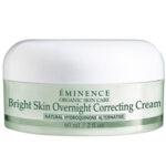 Eminence Organic Skin Care Bright Skin Overnight Correcting Cream Review