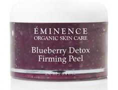 Eminence Organic Skin Care Blueberry Detox Firming Peel Review