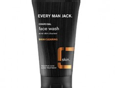 EVERY MAN JACK CHARCOAL FACE SCRUB SKIN CLEARING REVIEW