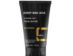 EVERY MAN JACK VOLCANIC CLAY FACE SCRUB OIL DEFENSE REVIEW