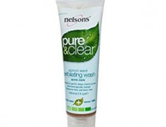 Nelson Pure and Clear Face Wash Exfoliating Wash Apricot Seed Acne Care Review