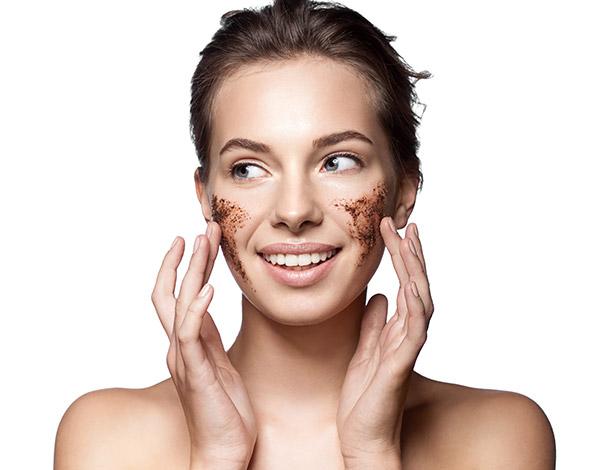 Exfoliating facial skin