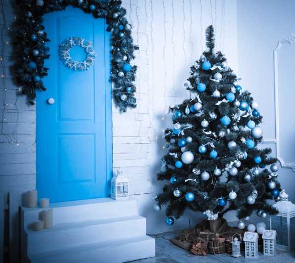 Glittered snowballs Christmas tree decorations