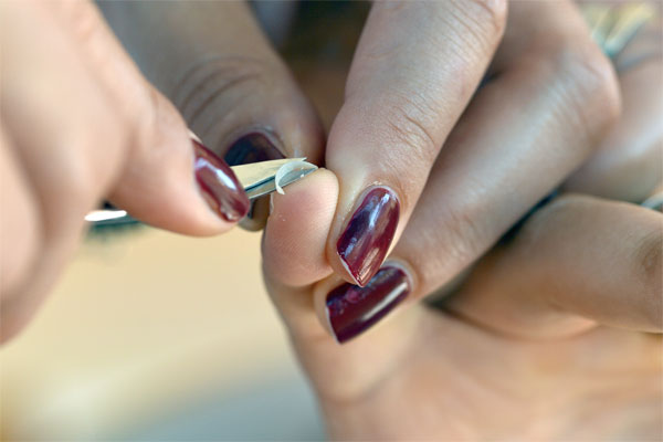 trimming  your nails