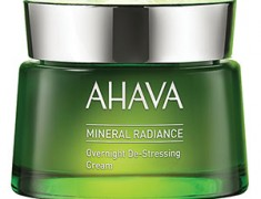 AHAVA MINERAL RADIANCE OVERNIGHT DE-STRESSING CREAM REVIEW