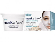 BLISS MASK A-'PEEL' RADIANCE REVEALING RUBBERIZING MASK REVIEW