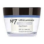 No7 Lift & Luminate Triple Action Day Cream SPF 15 Review