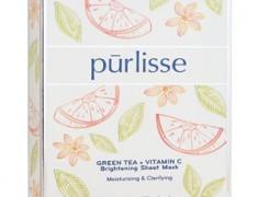 PURLISSE GREEN TEA + VITAMIN C BRIGHTENING SHEET MASK REVIEW