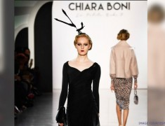 NYFW: Black is the New Black That Will Leave You Blushing with Chiara Boni La Petite Robe