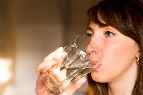 drink lots of water to boost metabolism