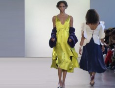 NYFW: Leanne Marshall Pays Homage To Her Project Runway Wave Collection