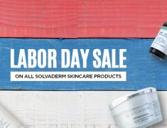 Labor Day Sale- Grab Limited Period Offers On Solvaderm Skincare Products!